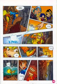 Комикс Клуб Винкс: Мальчишки из Редфонтайн - слайд 47