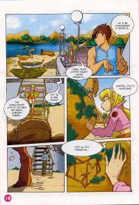 Комикс Клуб Винкс: Проишествие на черном болоте - слайд 18