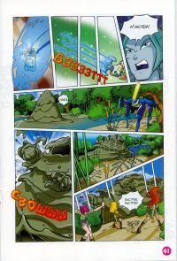 Комикс Клуб Винкс: Проишествие на черном болоте - слайд 39