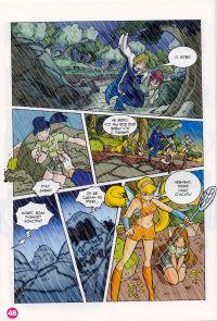Комикс Клуб Винкс: Проишествие на черном болоте - слайд 46