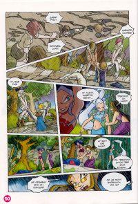 Комикс Клуб Винкс: Проишествие на черном болоте - слайд 48